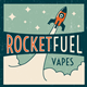 Rocketfuel Liquid 10ml Rocket Pop - nikotin 6mg