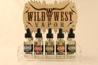 Wild West Vapor 3x10ml - Barbed Wire 0mg