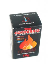 Cocobrico Coconut Coal 1kg rote schrift